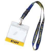 ID Badge Holders with Strip
